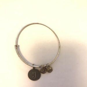 Alex and Ani T Charm Bangle Bracelet